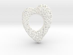 Love Nest in White Processed Versatile Plastic