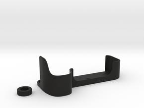 Sony A 7R II Half Case & Screw Cap in Black Natural Versatile Plastic