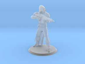 Gunslinger Miniature in Smooth Fine Detail Plastic