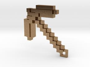 Minecraft - Pickaxe in Natural Brass