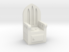 Gothic Privy in White Strong & Flexible