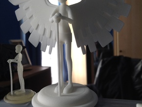The Patient Wings 10cm in White Natural Versatile Plastic
