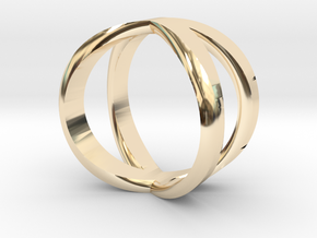 Infinity Ring / infinite Symbol Ring / Infinity si in 14k Gold Plated Brass