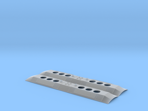 DL-109 Replacement Roof (N - 1:160) 2X in Smoothest Fine Detail Plastic