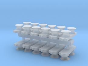1:96 Bit / Meduim Modern Short .64 inch in Smooth Fine Detail Plastic