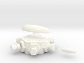 Multidetonator in White Strong & Flexible Polished