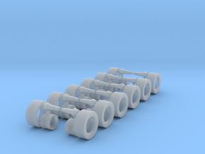 1/87 Radsatz Ballasttrailer in Frosted Ultra Detail