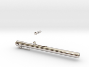 Pen Launcher in Rhodium Plated Brass