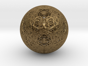 Unified Vector Grid, large in Polished Bronze