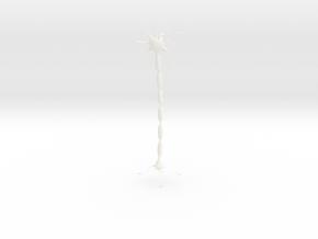 Neuron Pendant. in White Processed Versatile Plastic