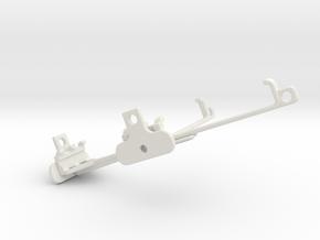 Asus Zenfone Zoom ZX550 tripod & stabilizer mount in White Natural Versatile Plastic