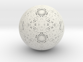 Unified Vector Grid, small in White Natural Versatile Plastic