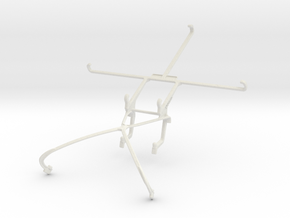 Controller mount for Shield 2015 & LG Spirit in White Natural Versatile Plastic