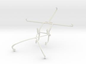 Controller mount for Shield 2015 & Meizu m1 in White Natural Versatile Plastic
