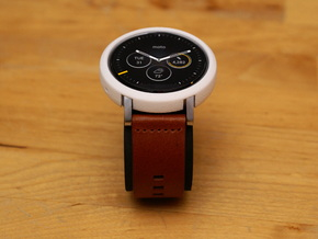 Moto 360 Gen 2 Bumper Case - 46mm Mens Short in White Natural Versatile Plastic
