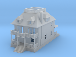 Barber 577 House Z Scale in Smooth Fine Detail Plastic