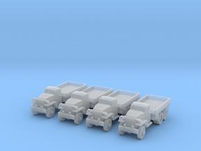 1/220 Studebaker US-6 trucks in Smooth Fine Detail Plastic