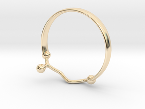 GABA ring Size 7  in 14K Gold