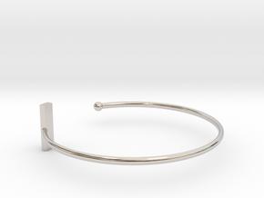 Fine Bracelet Ø 63 Mm/2.48 inch R Medium in Platinum