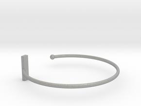 Fine Bracelet Ø 63 Mm/2.48 inch R Medium in Aluminum