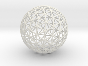 Maxvol.3.130 70mm in White Natural Versatile Plastic