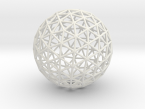 Maxvol.3.130 50mm in White Natural Versatile Plastic