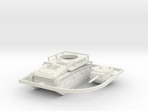 1/100 (15mm) Leichttraktor Rheinmetall in White Natural Versatile Plastic