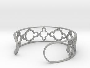 Mandelbrot Due Bracelet 7in (18cm) in Aluminum