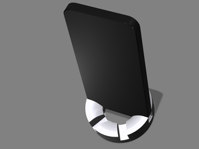 iPhone Tilter Stand in White Natural Versatile Plastic