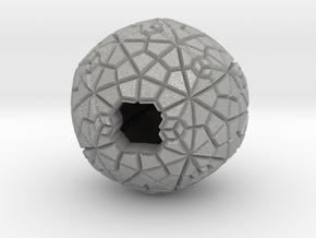 Gemetric Pendant in Aluminum