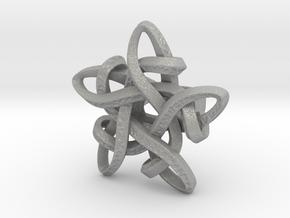 Celtic Star ring in Aluminum