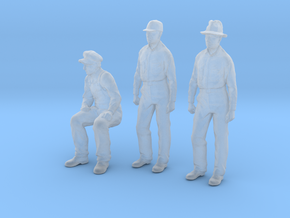 1:48 scale Figures 1 seated pippin 2 standing Fred in Frosted Extreme Detail