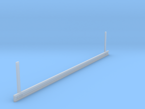 Guardrail (Leitplanke) in Smooth Fine Detail Plastic