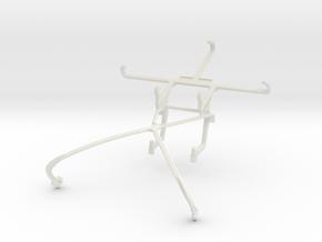 Controller mount for Shield 2015 & ZTE Blade L3 in White Natural Versatile Plastic