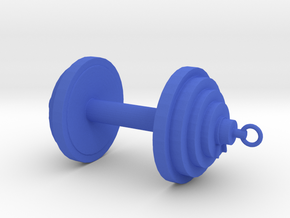 Weights in Blue Processed Versatile Plastic