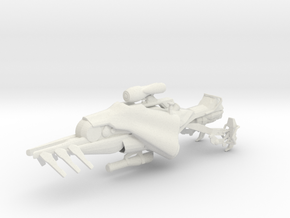 Queenbreaker's Sparrow (1:18 Scale) in White Natural Versatile Plastic
