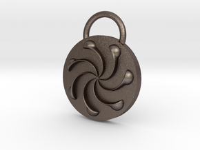 Product17 in Polished Bronzed Silver Steel