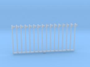 Rollenständer Einfach mit einer Rolle 16 Stück in Smoothest Fine Detail Plastic
