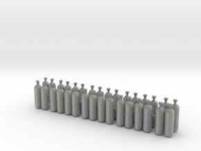 Atemluftflaschen in Metallic Plastic