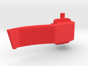 Paddle lever for Cougar, FLCS and F22 - V3 in Red Processed Versatile Plastic