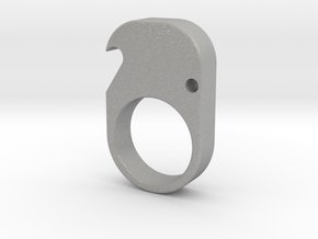 Single- Brass Knuckle Duster -Bottle Opener in Aluminum