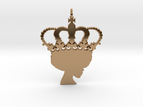 Royalty in Polished Brass