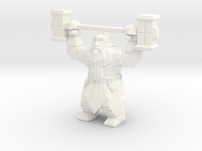 Dwarvon Paragon for Wargaming terrain in White Processed Versatile Plastic