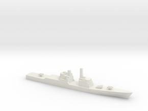 Strike Cruiser MK I (1974) w/o MCLWG, 1/2400 in White Natural Versatile Plastic