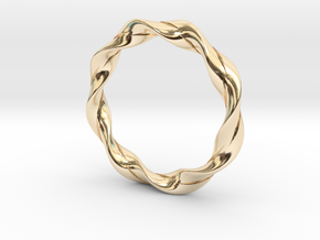 Twisted Bracelet  in 14K Yellow Gold