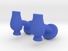 Cufflinks Glencairn Whiskyglass in Blue Processed Versatile Plastic