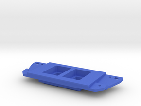 Tacoma Switch plate in Blue Processed Versatile Plastic