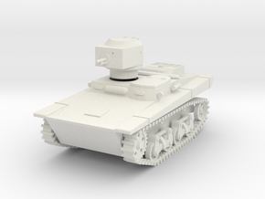 PV109 T37A Amphibious Tank (1/48) in White Strong & Flexible