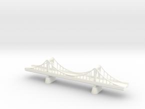 Roberto Clemente Bridge in White Processed Versatile Plastic