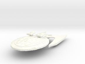"""I.S.S. Titan 5.1"""" in White Processed Versatile Plastic"""